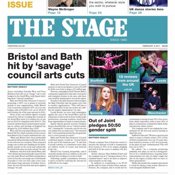 The Stage Newspaper Coverage