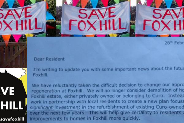 Foxhill SAVED!